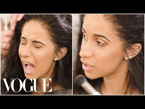 Cardi B Gets Ready for Pat McGrath's Vogueing Ball   Vogue