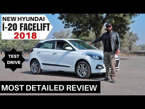 connectYoutube - Hyundai New i20 Facelift 2018 Most Detailed Review, Test Drive, Honest Opinion