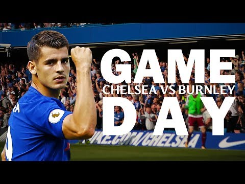 GAME DAY | CHELSEA VS BURNLEY | Morata Home Debut & More Exclusive Matchday Footage