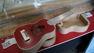 Milling Ukuleles with CNC Routerparts