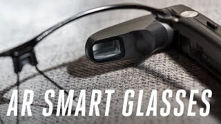 Toshiba's new smart glasses hands-on
