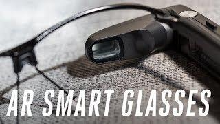 Toshiba's new smart glasses hands-on