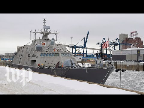 connectYoutube - New $440M Navy ship stuck in Canada