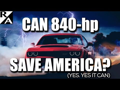 Right Angle - Can 840-hp Save America? Yes, Yes It Can - 11/17/17