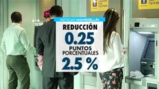 Colombia tiene la tasa de interés más baja de la historia   - Telemedellín