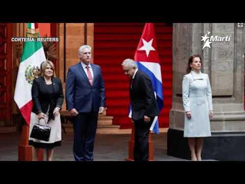 Info Martí | Personalidades rechazaron la visita a México del gobernante cubano Miguel Díaz Canel