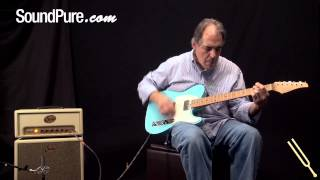 Suhr Guitars Classic T Daphne Blue Finish - Electric Guitars Demo