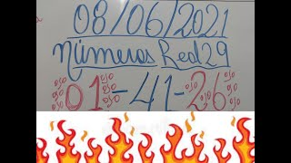 NUMEROS PARA HOY 08/06/2021 DE JUNIO PARA TODAA LAS LOTERIAS
