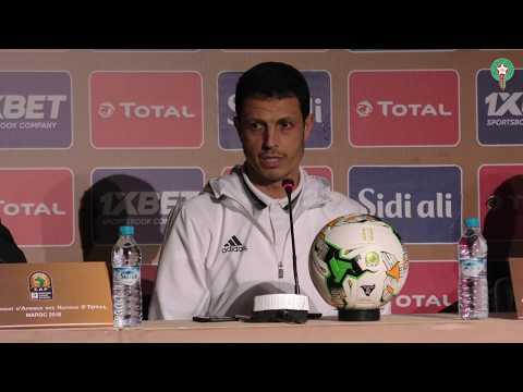 هذا ما قاله جمال سلامي قبل مباراة غينيا