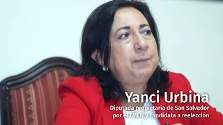 #Políticas: Yanci Urbina