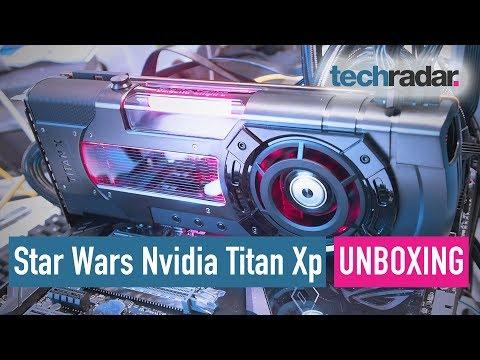 Star Wars Nvidia Titan Xp unboxing