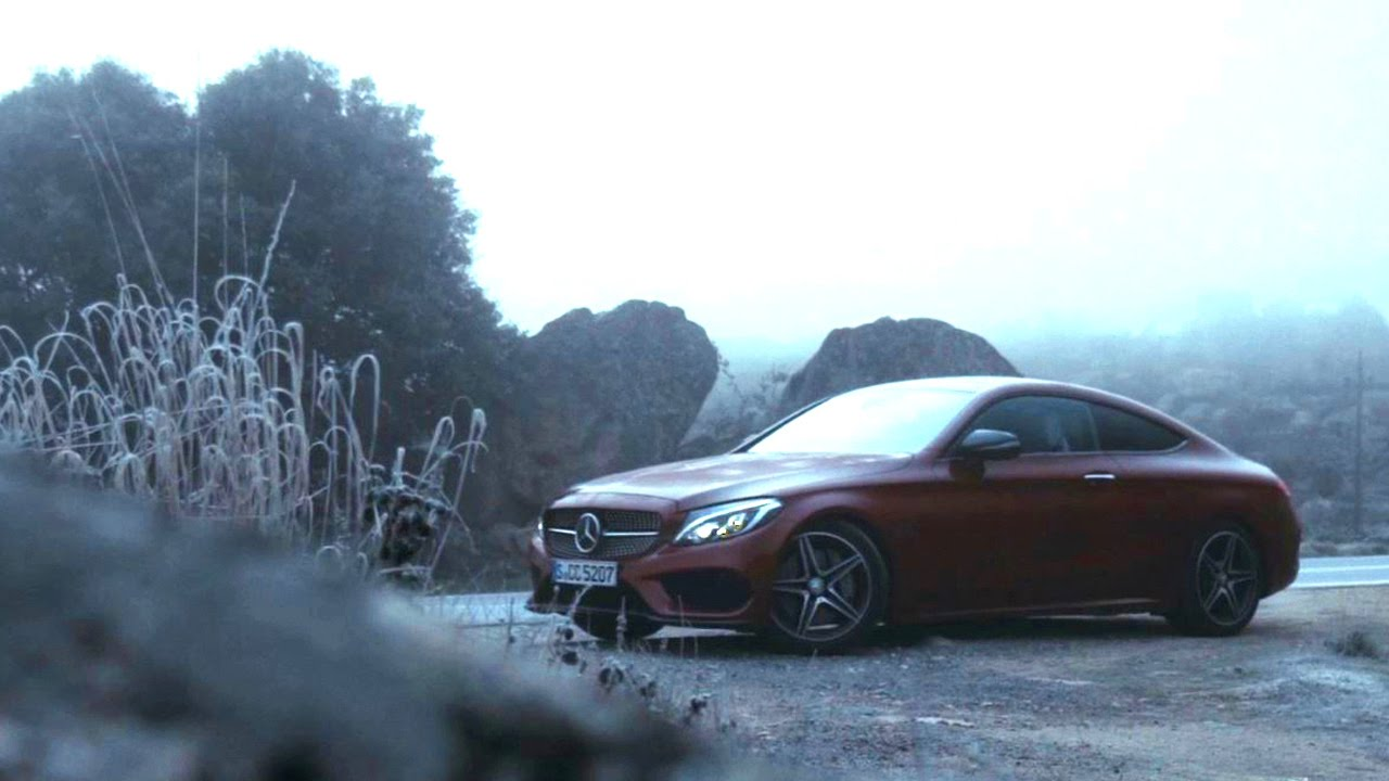 The Next Chapter: Beyond the road with the C-Class Coup - Mercedes-Benz original