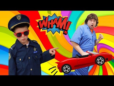 Who took Smalls RC Car?!? Kids Mystery Video
