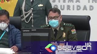 #LAPAZ POLICÍA PRESENTA PLAN ESTRATÉGICO INSTITUCIONAL 2021-2025 AL PRESIDENTE LUIS ARCE.  El com.