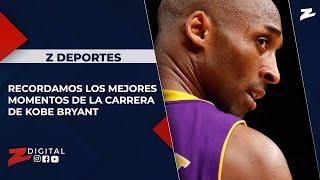 Z Deportes recordamos los mejores momentos de la carrera de Kobe Bryant