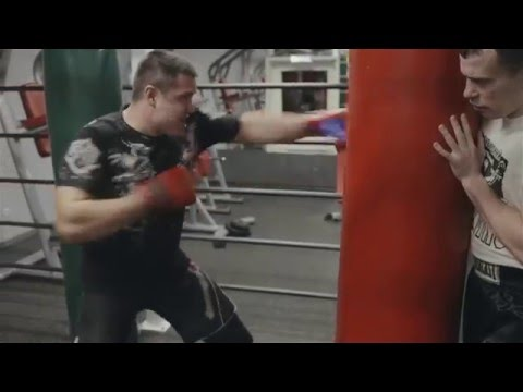 Бокс в Powerhouse Gym Часть 3