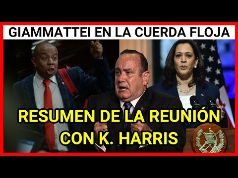 ULTIMA NOTICIA GUATEMALA, DIPUTADO ALDO DAVILA SE PRONUNCIA ANTE LA REUNION DE GIAMMATTEI Y HARRIS