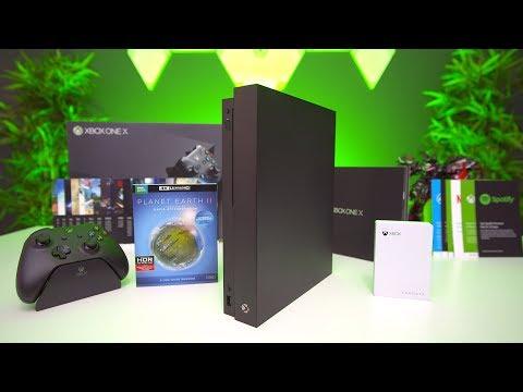 My MASSIVE Xbox One X Unboxing!