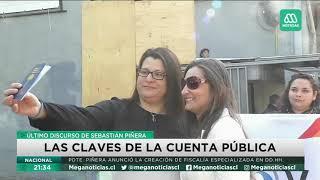 Las claves de la última cuenta pública del Presidente Piñera