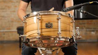 Metro 7x14 Blackbutt 16 Ply Snare Drum Blackheart Gloss - Quick 'n' Dirty