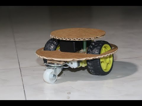 How to make Mini Car Drone with cardboard