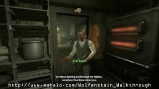 Wolfenstein Walkthrough - Mission 1: Train Station Part 1