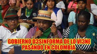 COLOMBIA ORGANIZACIONES SOCIALES SE PRONUNCI4N DESPUÉS DEL AT3NTADO CONTR4 LA POBLACIÓN..