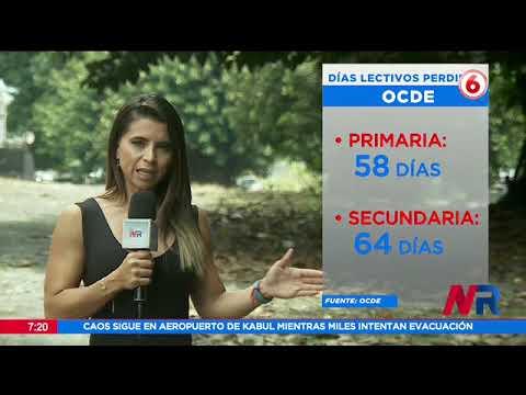 Costa Rica es el país que más días lectivos pierde