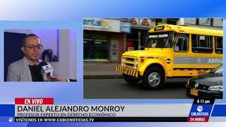 Daniel Monroy, experto en derecho económico, explicanuevo cambio de Uber
