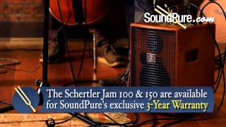 Schertler Jam 100 and Jam 150 Acoustic Amp Demo