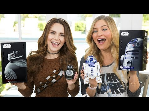 connectYoutube - NEW Star Wars Sphero Droids unboxing!