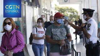Brasil registra 27.878 personas fallecidas a causa del virus