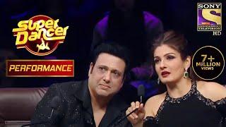 "Ritik And Pratik's Act On ""Jiyo Re Baahubali"" Amazes Govinda And Raveena | Super Dancer Chapter 2 - SETINDIA"