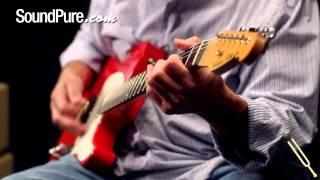 Michael Tuttle Standard Classic T Fiesta Red - Electric Guitars Demo