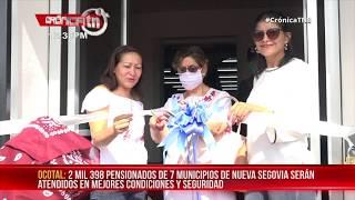 Ocotal: Dan por inaugurado nuevo centro de pago a pensionados - Nicaragua
