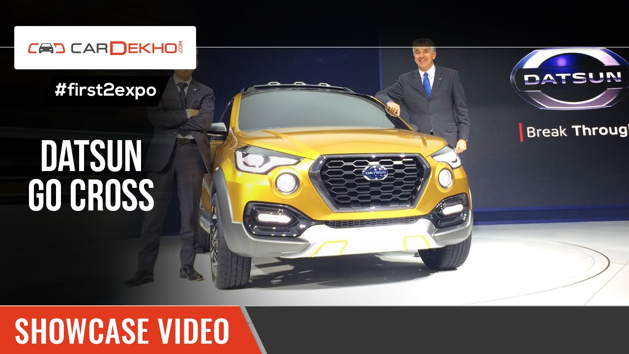 #first2expo | Datsun Go Cross Concept | Showcase Video | CarDekho@AutoExpo2016