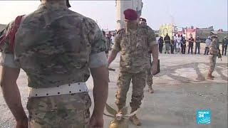Un mes de la tragedia en el puerto de Beirut, Líbano