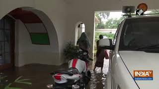 Heavy rainfall leads to waterlogging in Bihar's Patna - INDIATV