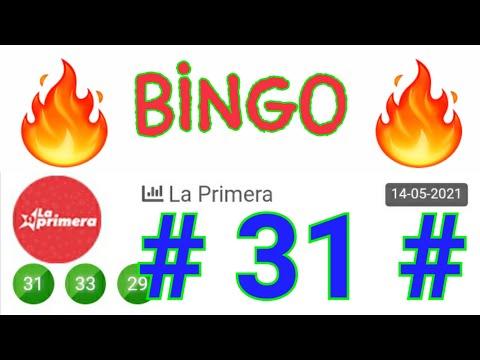 SORTEOS de HOY....!! BINGO HOY ((( 31 ))) loteria LA PRIMERA HOY/ NÚMEROS RECOMENDADO PARA HOY...!!