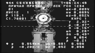 New Russian Supply Ship Arrives at the ISS