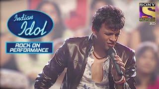 पूरे जूनून के साथ Abhijeet ने किया Stage पे Perform | Indian Idol | Rock On Performance - SETINDIA