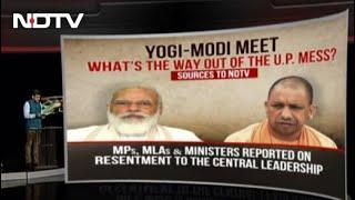 Amid UP Turmoil, Yogi Adityanath In Delhi, Other Top Stories | Good Morning India - NDTV