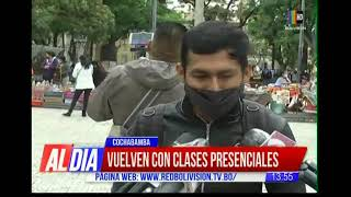 Vuelven las clases presenciales el 1 de febrero en Cochabamba