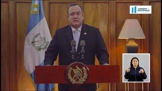 El presidente Alejandro Giammattei decreta Estado de Prevención