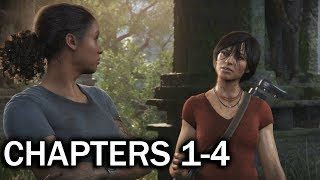 UNCHARTED The Lost Legacy Walkthrough: Chapters 1 to 4 (1080p)