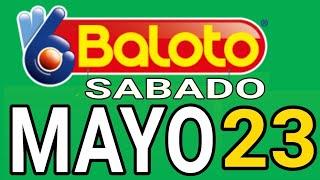 Resultados del Baloto del Sábado 23 de Mayo de 2020