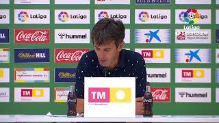 Rueda de prensa Elche C.F. vs Cádiz CF