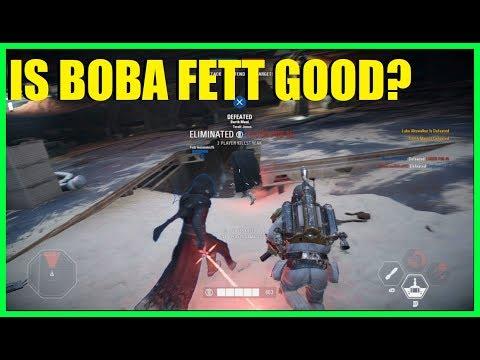 Star Wars Battlefront 2 - Is Boba Fett still good? | Heroes vs Villains slaughter!