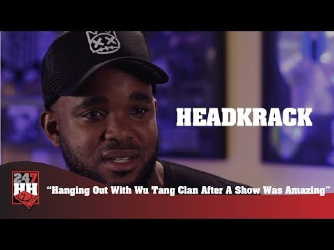 Headkrack - Hanging Out With Wu Tang Clan After A Show Was Amazing (247HH Wild Tour Stories)