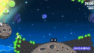 Angry Birds Space - Walkthrough 1-30 3 stars Pig Bang level guide how to get three star levels